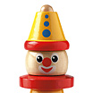 Stackable clown from Brio / Sweden.