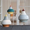 Cirque, family of lamps by Clara von Zweigbergk / Louis Poulsen.