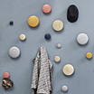 Dots, coat hangers by Tveit & Tornø / Muuto.