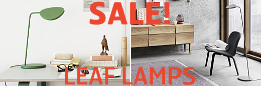 Sale! Leaf, LED lamps by Broberg & Ridderstråle / Muuto