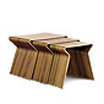GJ nesting table by Grete Jalk / Lange Productions.
