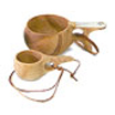 Kuksas, traditional wooden mugs from Lappland.