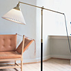 Le Klint 349, floor lamp by Aage Petersen / Le Klint.
