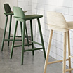 Nerd, bar stools by David Geckeler / Muuto