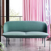 Oslo sofa, chair and pouf by Anderssen & Voll / Muuto.