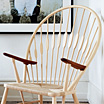The Peacock chair (PP550) by Hans Wegner / PP Møbler