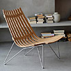 Scandia Nett, lounge chair by Hans Brattrud / Fjordfiesta.