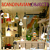 Scandinavian Objects store window.