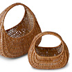 Willow baskets, traditional handicraft from Sweden.