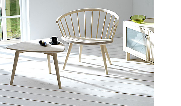 Arka, lounge chair by Yngve Ekström Stolab