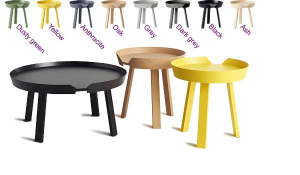 Around Coffee Table By Thomas Bentzen Muuto Available