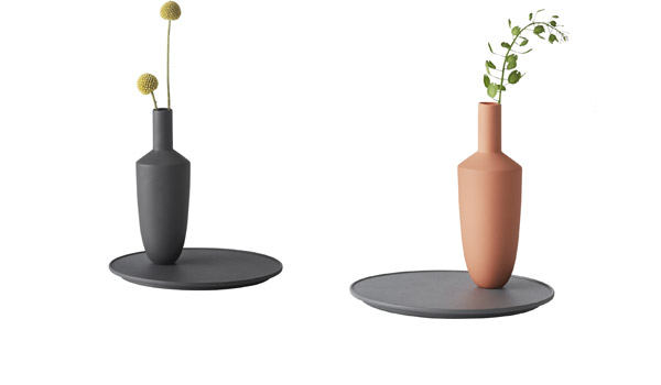 3e201a29f Balance, vase with tray by Hallgeir Homstvedt / Muuto.