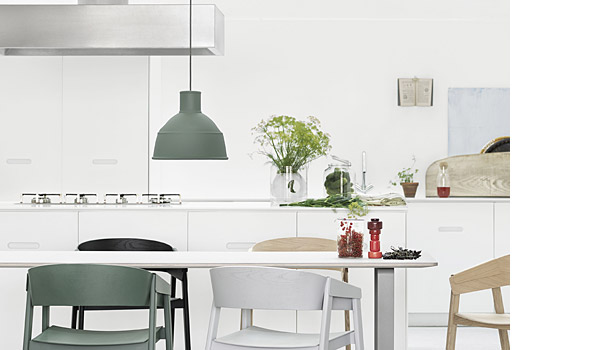 Four Green Glass Vase By Matti Klenell Muuto