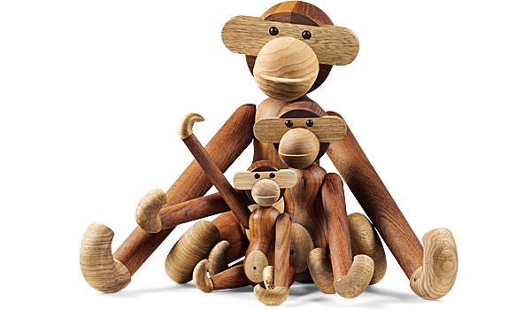 Wooden Monkeys By Kay Bojesen Rosendahl
