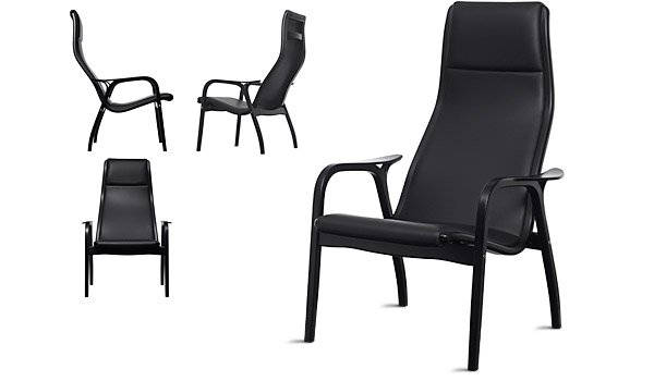 ... Lamino, Lounge Chair And Stool By Yngve Ekström / Swedese