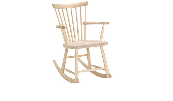 Lillaåland rocking chair, by Carl Malmsten Stolab