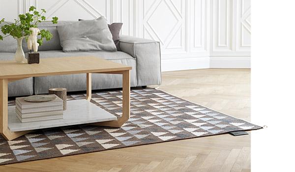 Mini Flag Nordic Kelim Carpet By Thomas Sandell Asplund