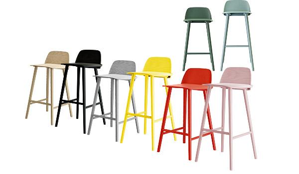 Nerd bar stools by David Geckeler Muuto : nerd bar stool david geckeler muuto colours from www.scandinavianobjects.com size 600 x 350 jpeg 36kB