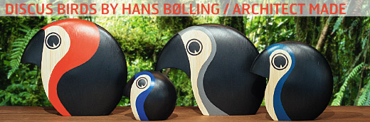 Link to Discus birds by Hans Bølling / ArchitectMade
