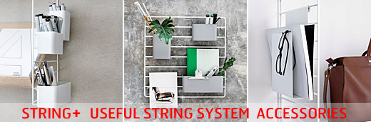String + Plus, useful accessories for the String System