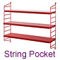 String Pocket, small shelf / String