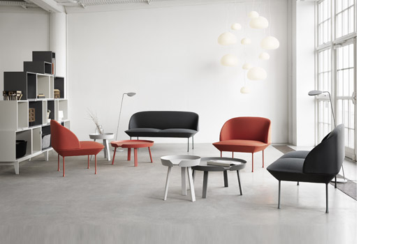 Oslo Sofa Chair And Pouf By Anderssen Amp Voll Muuto