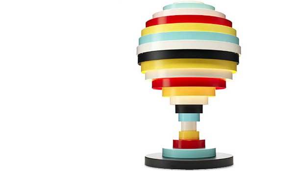 Pxl Multi Coloured Table Lamp By Fredrik Mattson Zero