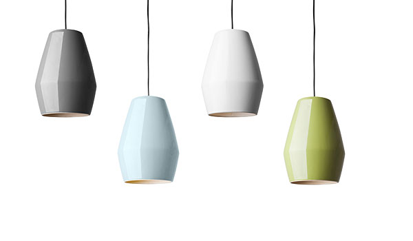 SALE Bell Hanging Lamps In Four Colours By Mark Braun Northern - Hanging lights for sale