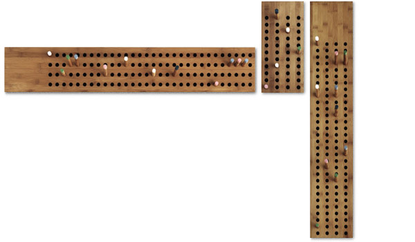 score board coat hanger key hooks by we do wood. Black Bedroom Furniture Sets. Home Design Ideas