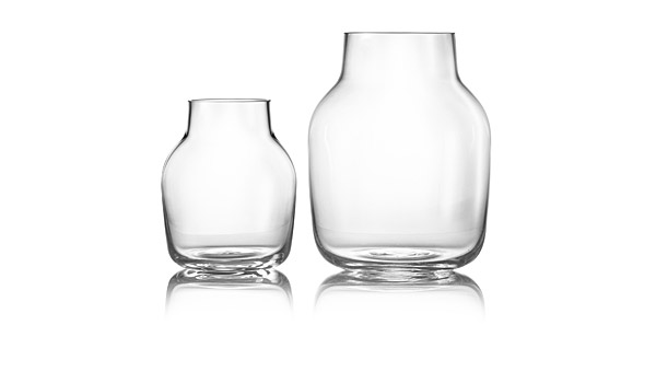 Silent Glass Vases Clear By Andreas Engesvik Muuto
