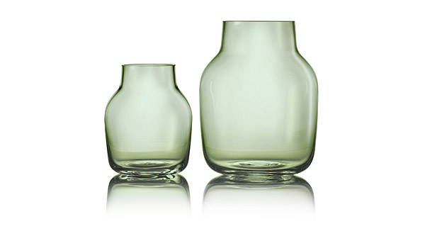 Silent Glass Vases Green By Andreas Engesvik Muuto
